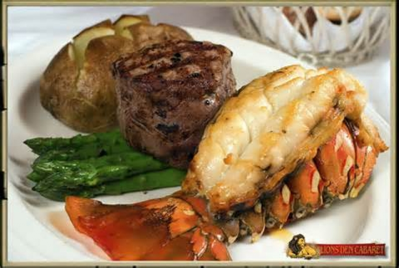 STEAK & LOBSTER TAIL NIGHT